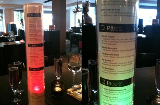 Bien connu Menus dégustations : le BP2 un restaurant à Neuilly où l'on mange  ED93