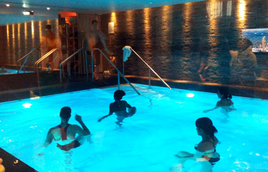 Mon premier spa paris dans le 16 me au spa villa thalgo for Aquagym piscine paris