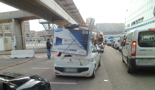 prix billet bateau marseille tunis avec voiture