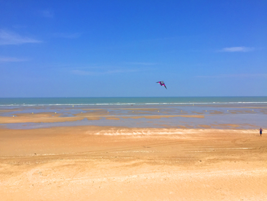 plage-cabourg-cerf-volant