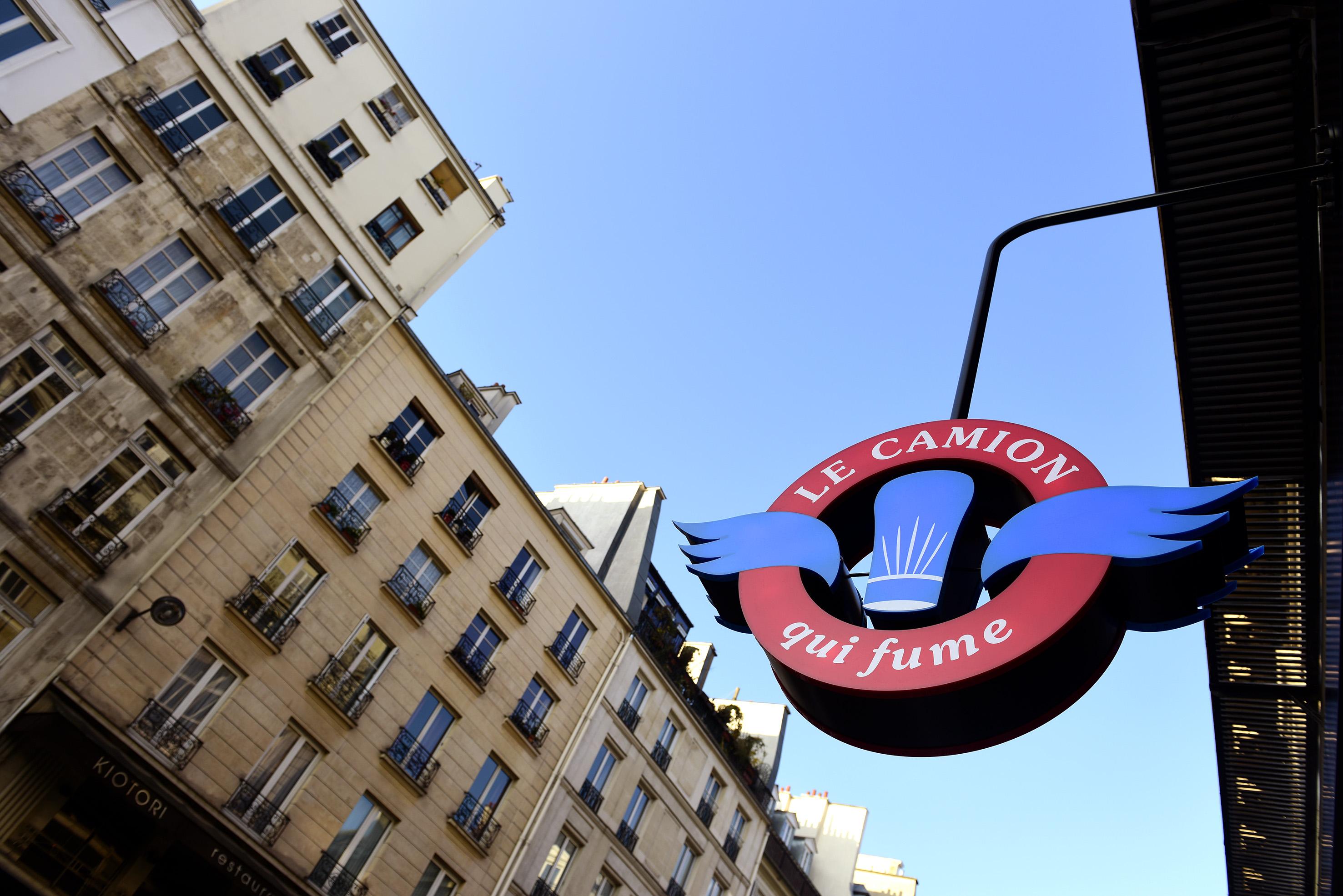 Restaurant Le Camion qui fume-logo